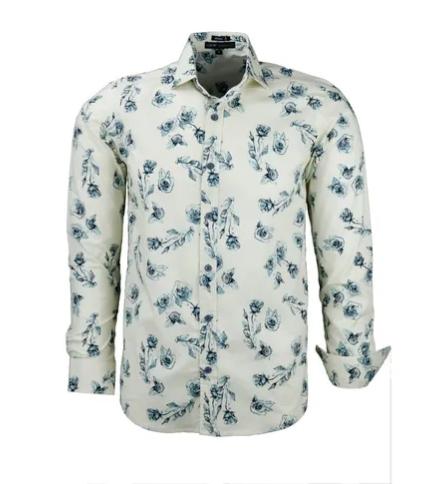 Camisa Masculina Canedo Estampa Floral