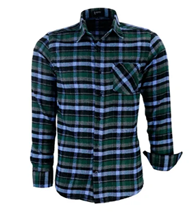 Camisa Masculina com Bolso Nordic