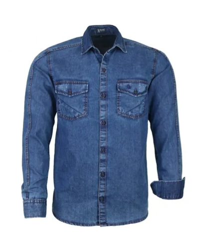 Camisa Masculina Jeans Ross Comfort