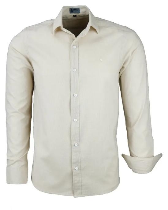 Camisa Masculina Bergamo - Linho Luxo
