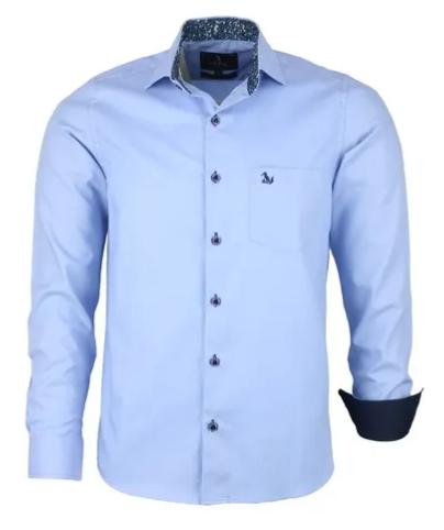 Camisa Masculina Melbek Algodão Fio 50