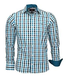 Camisa Masculina Xadrez Boston