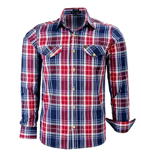 Camisa Masculina Xadrez Shift