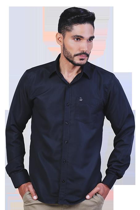 Camisa Social Masculina Roads com Bolso - Não Amassa