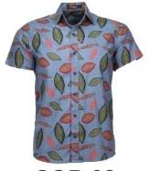Camisa Totem Comfort Manga Curta Floral