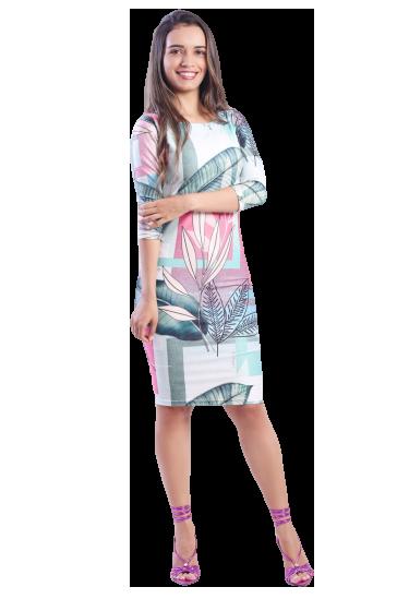 Vestido Malha Suplex