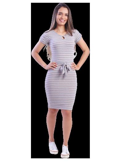 Vestido Malha Viscose