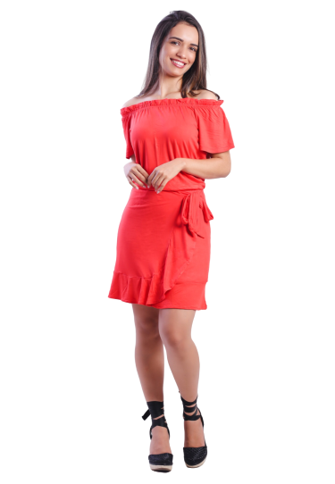 Vestido Viscolycra