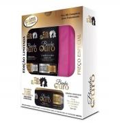 Banho de Ouro - Kit Rita Bonita Acompanha Necessaire (3 Produtos)