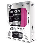 Diamond Repair - Kit Rita Bonita  Acompanha Necessaire (3 Produtos)
