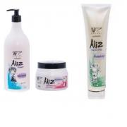 Kit Wf Cosméticos Aliz Tratamento (3 Produtos)