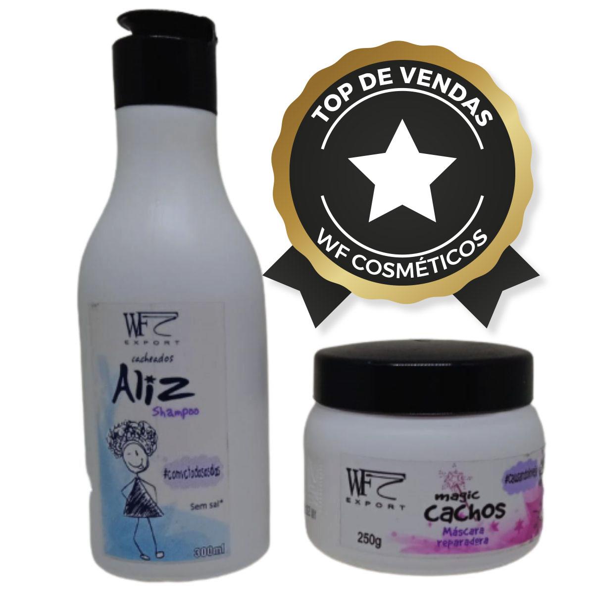ALIZ-Magic Cachos-Kit Wf Cosméticos Duo Home Care 2 Produtos