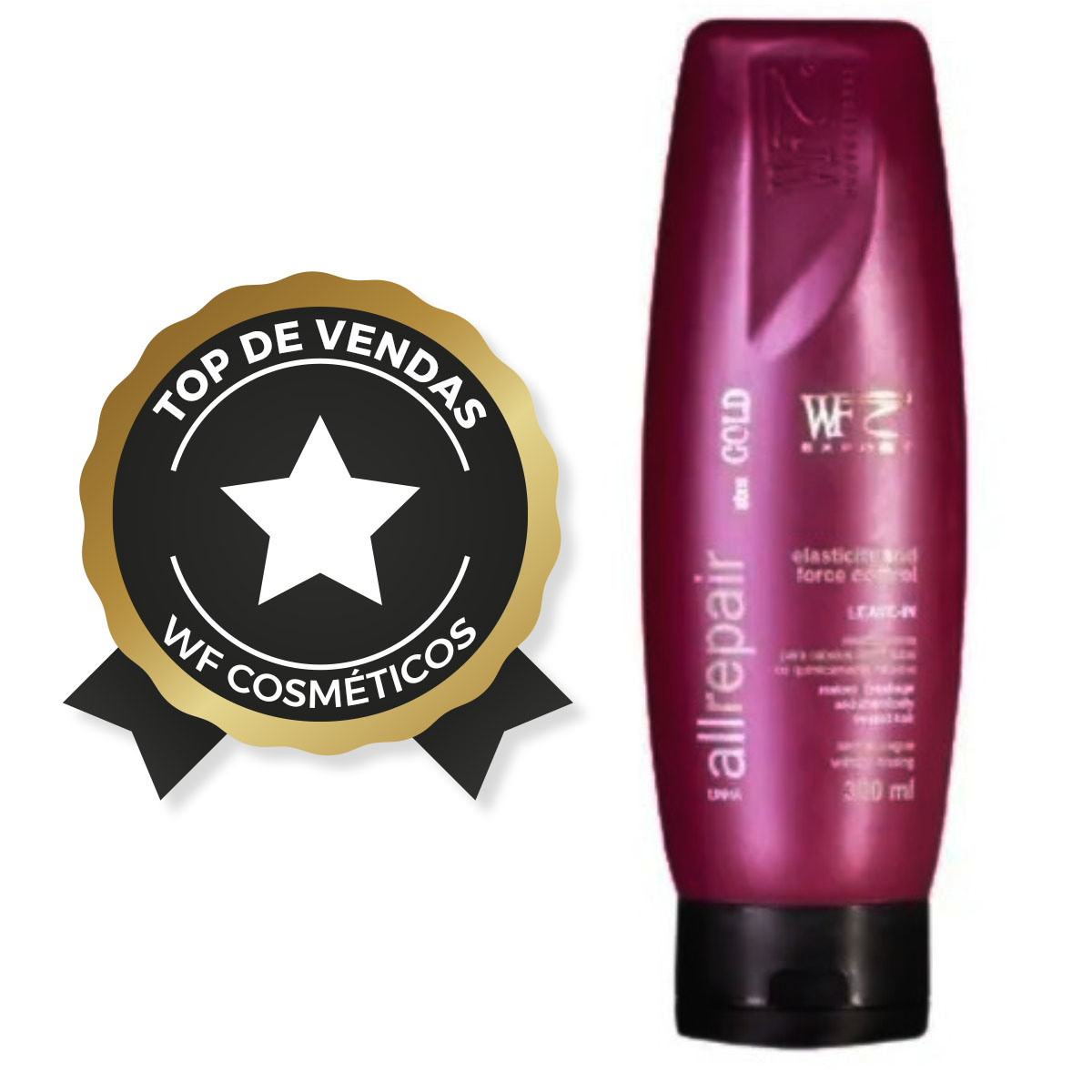 ALL REPAIR - LEAVE-IN ELASTICITY FORCE CONTROL WF COSMETICOS 300ML