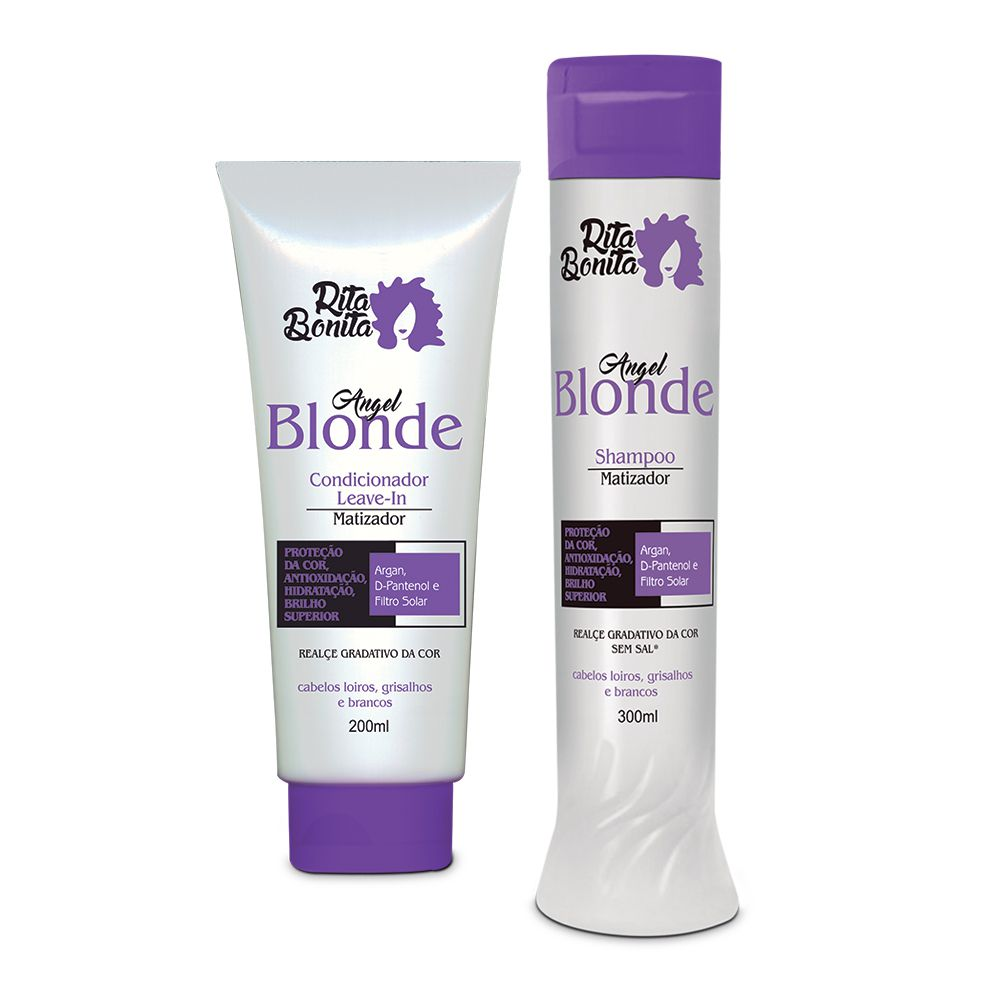 Angel Blonde - Kit Rita Bonita  Duo Home Care (2 Produtos)