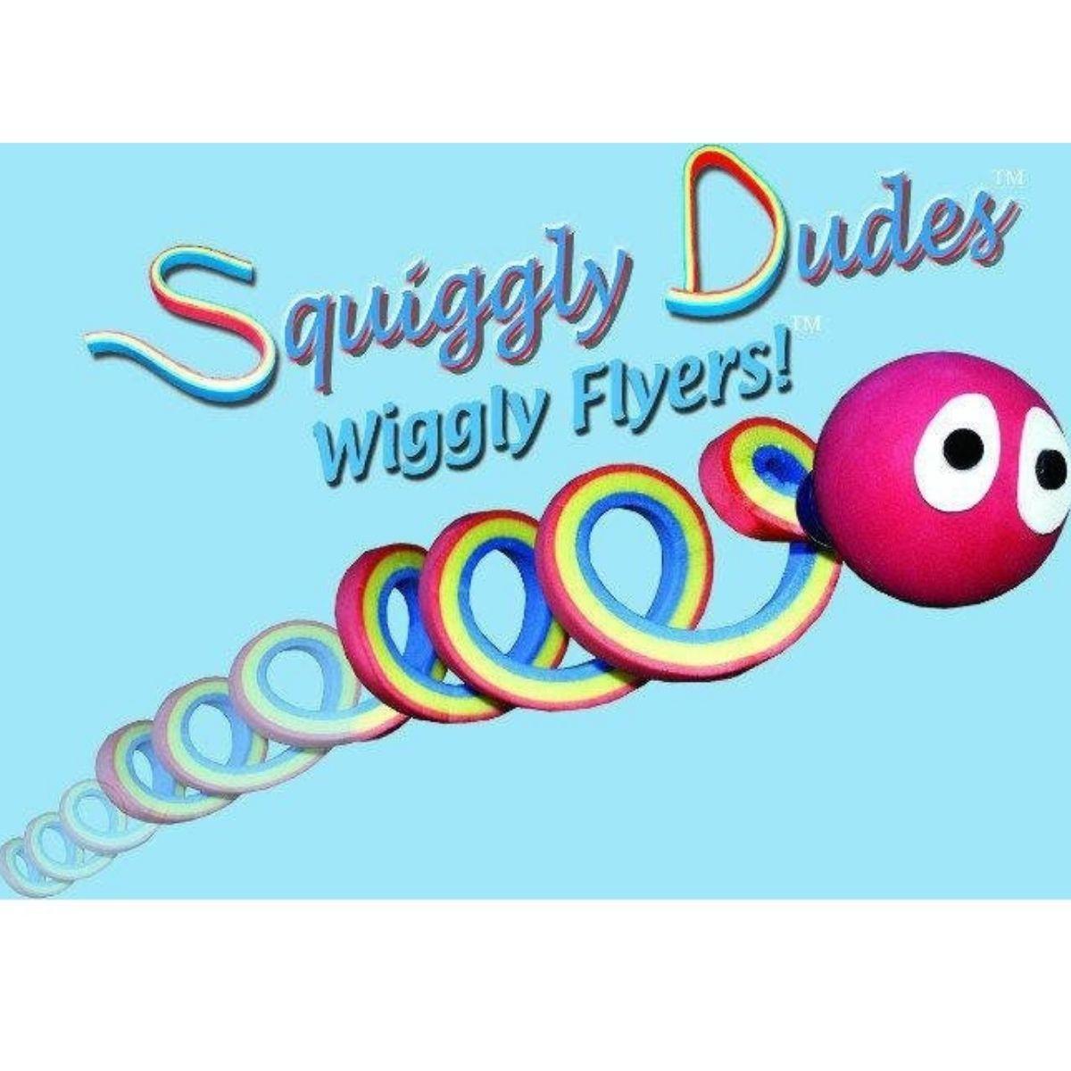 Brinquedo  Squiggly Dudes WIGGLY FLUERS