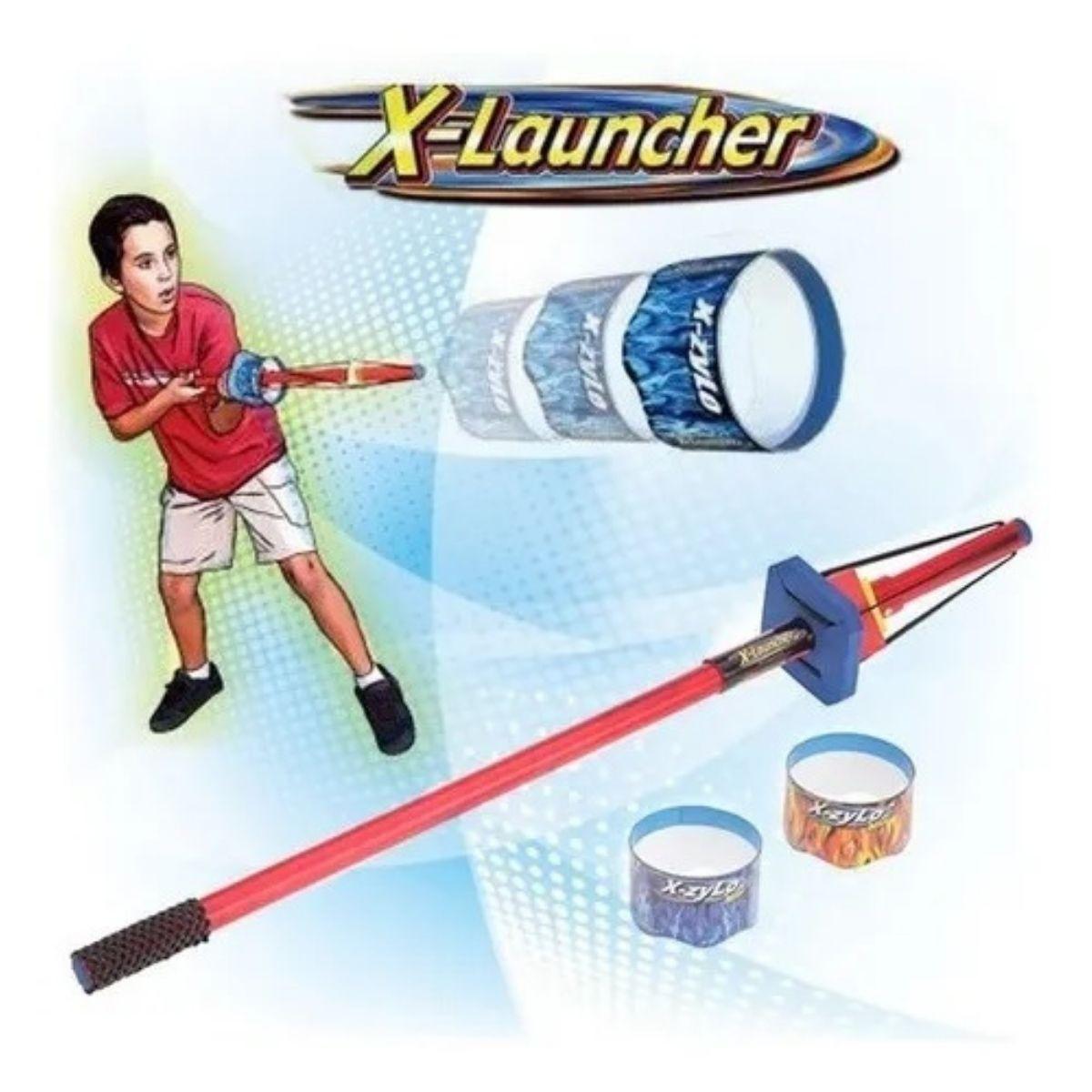 Brinquedo x launcher