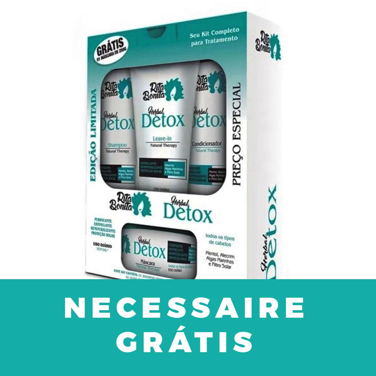 Herbal Detox - Kit Rita Bonita  (4 Produtos)