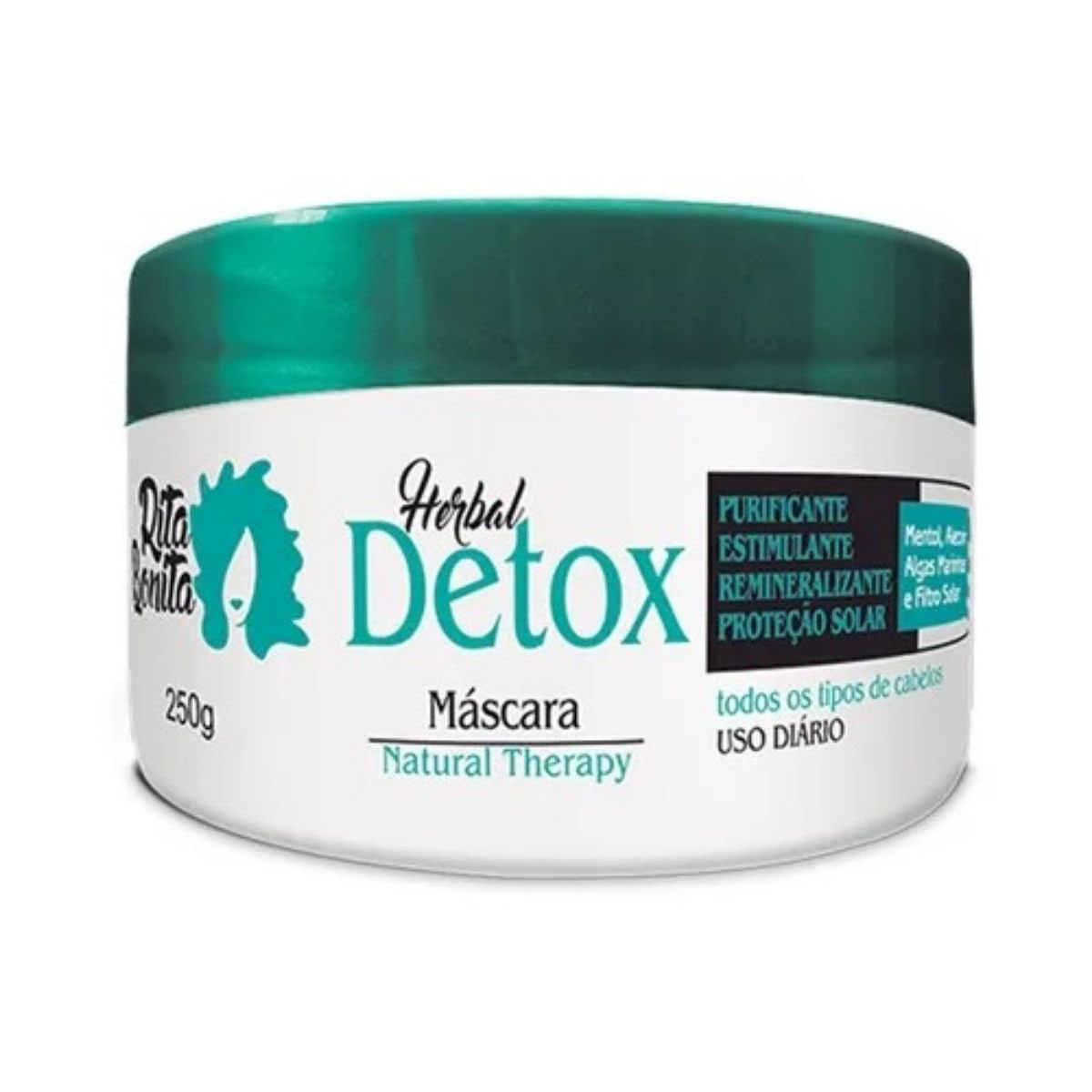 Herbal Detox - Máscara Rita Bonita 250g