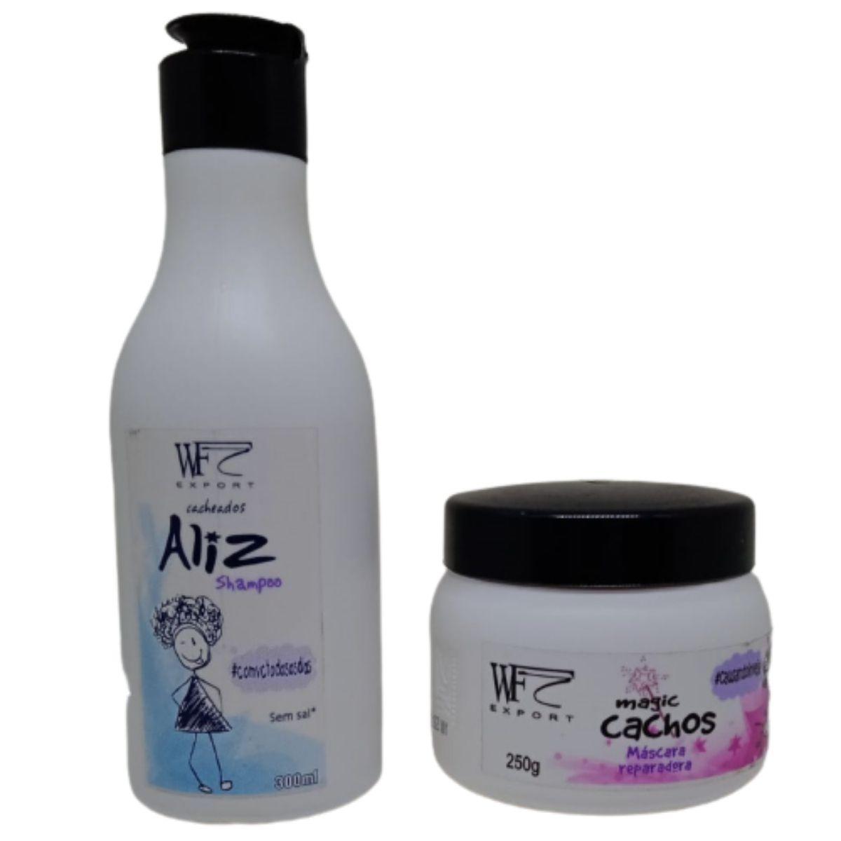 Kit Wf Cosméticos Aliz Duo Home Care (2 Produtos)