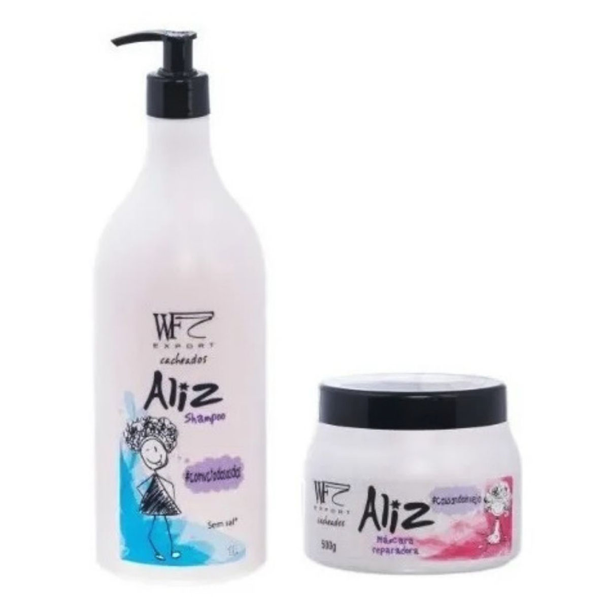 Kit Wf Cosméticos Aliz Duo Professional (2 Produtos)