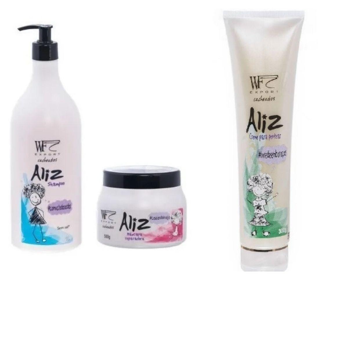 Kit Wf Cosméticos Aliz Tratamento Professional  (3 Produtos)