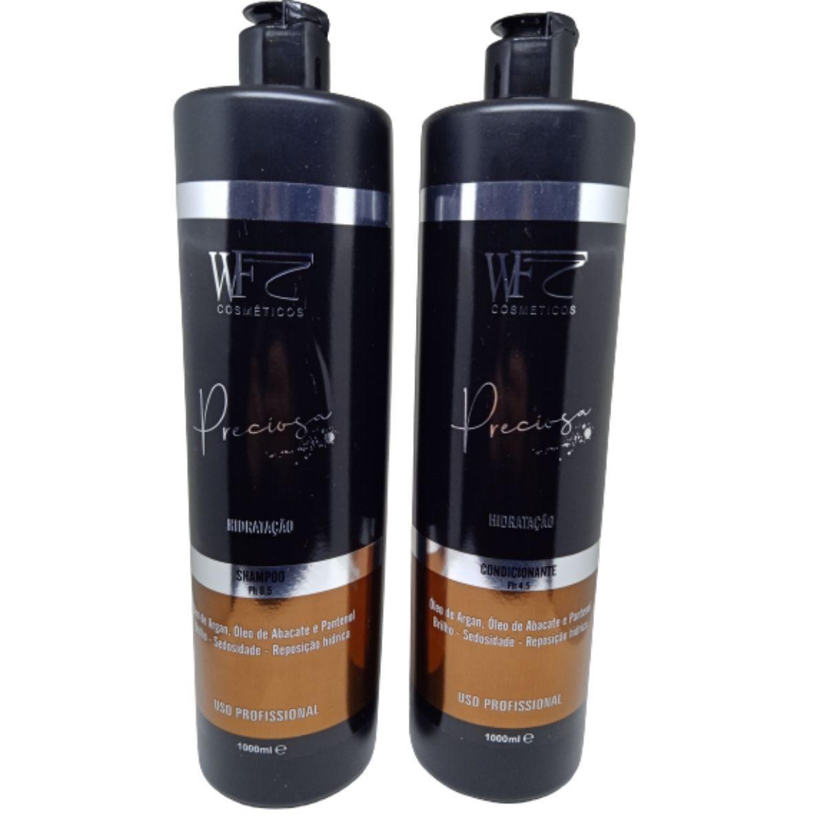 Kit Wf Cosméticos Preciosa  HIDRATAÇÃO  Duo Professional (2 Produtos)