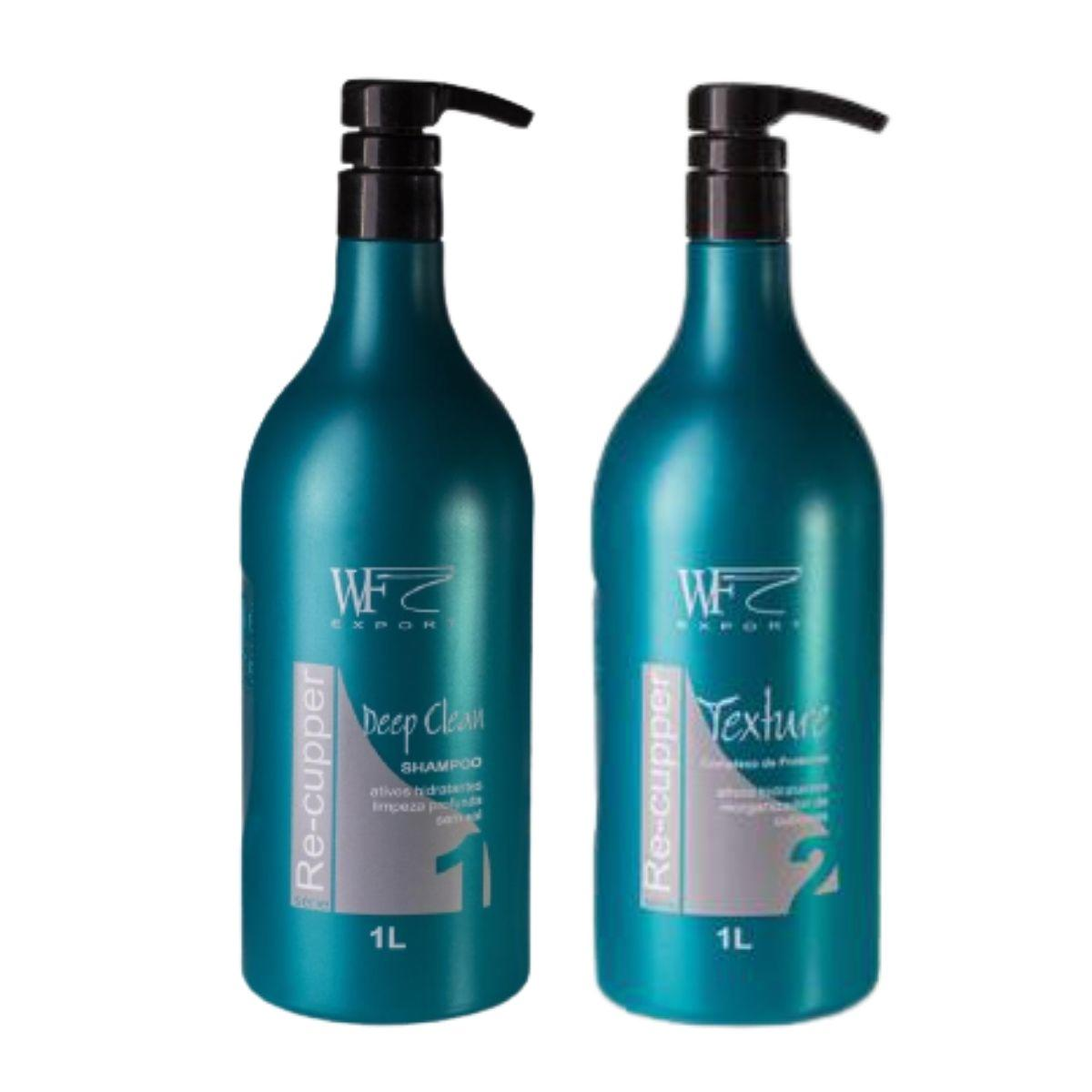 Kit Wf Cosméticos Re-cupper Duo Professional (2 Produtos)