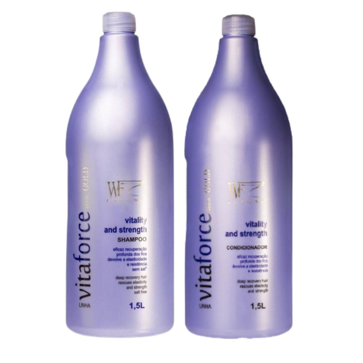 Kit Wf Cosméticos Vitaforce Duo Professional (2 Produtos)