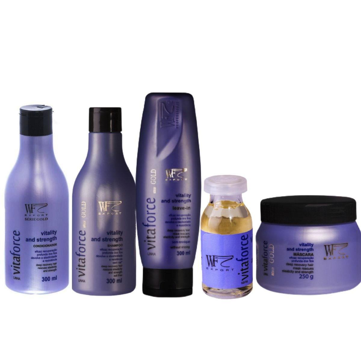 Kit Wf Cosméticos Vitaforce Home Care (5 Produtos)