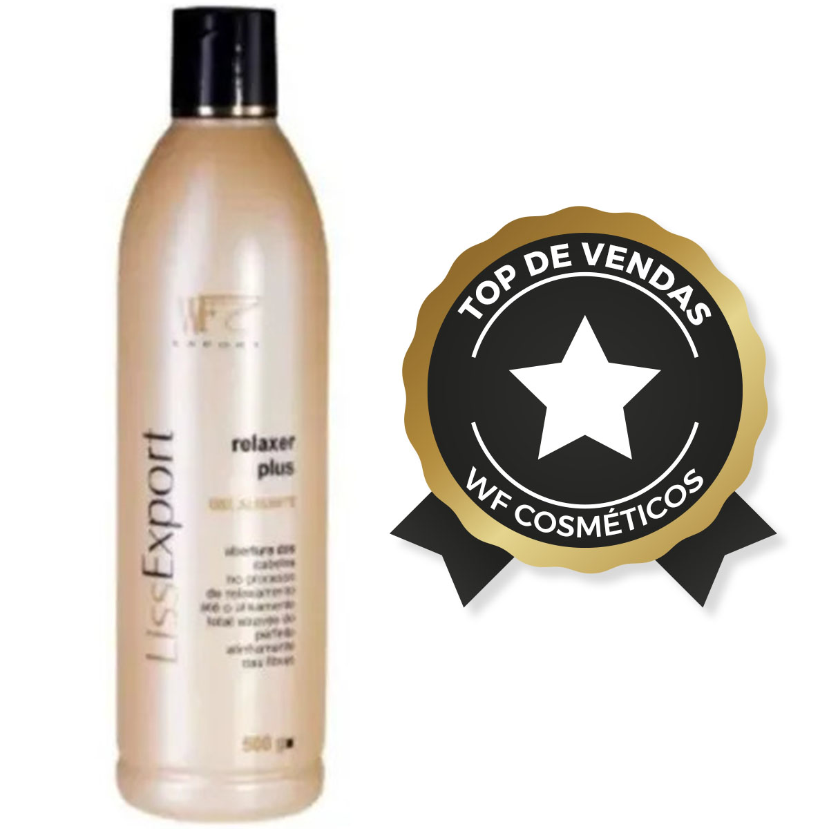 LISS EXPORT - ALISANTE RELAXER PLUS GEL WF COSMETICOS 500G
