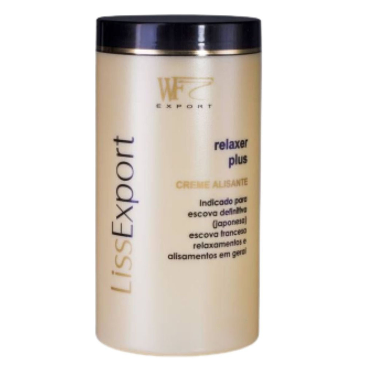 LISS EXPORT - ALISANTE RELAXER PLUS SOFT WF COSMETICOS 1KG