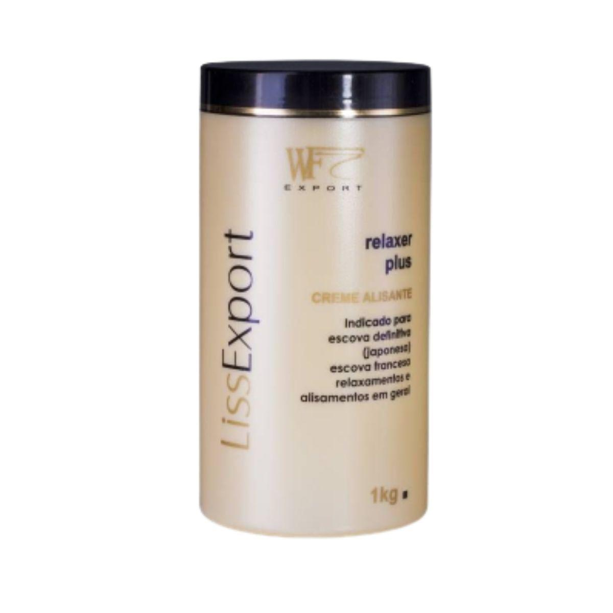 LISS EXPORT - ALISANTE RELAXER PLUS SUAVE WF COSMETICOS 1KG