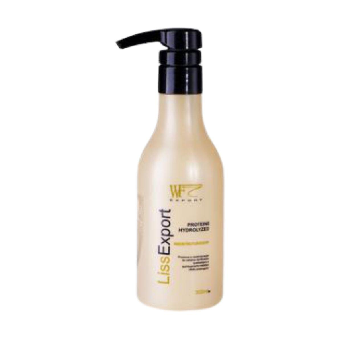 LISS EXPORT - QUERATINA PROTEINE HIDROGILIZED WF COSMETICOS 300ML