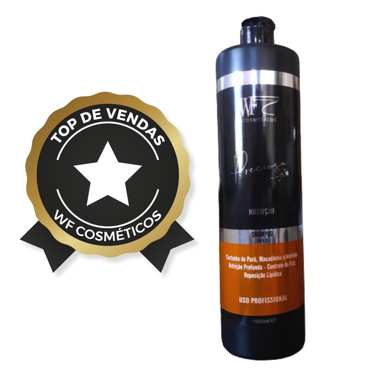 PRECIOSA - Shampoo Nutrição  WF COSMETICOS  1000ml