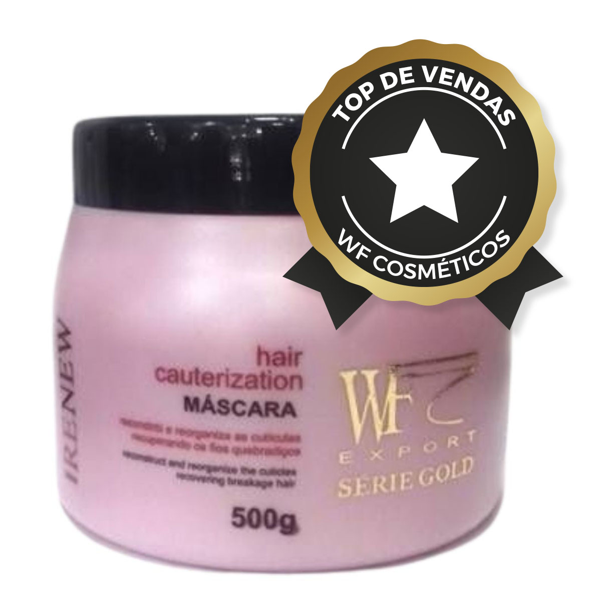 RENEW - MASCARA HAIR CAUTERIZATION WF COSMETICOS 500G