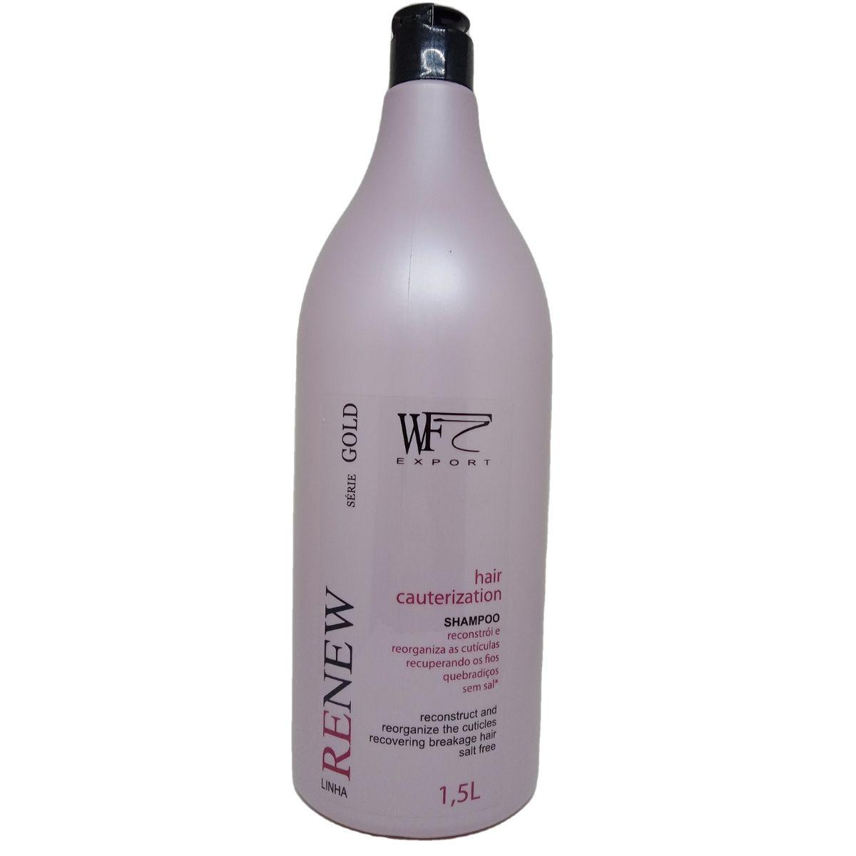 RENEW - SHAMPOO HAIR CAUTERIZATION WF COSMETICOS 1,5L