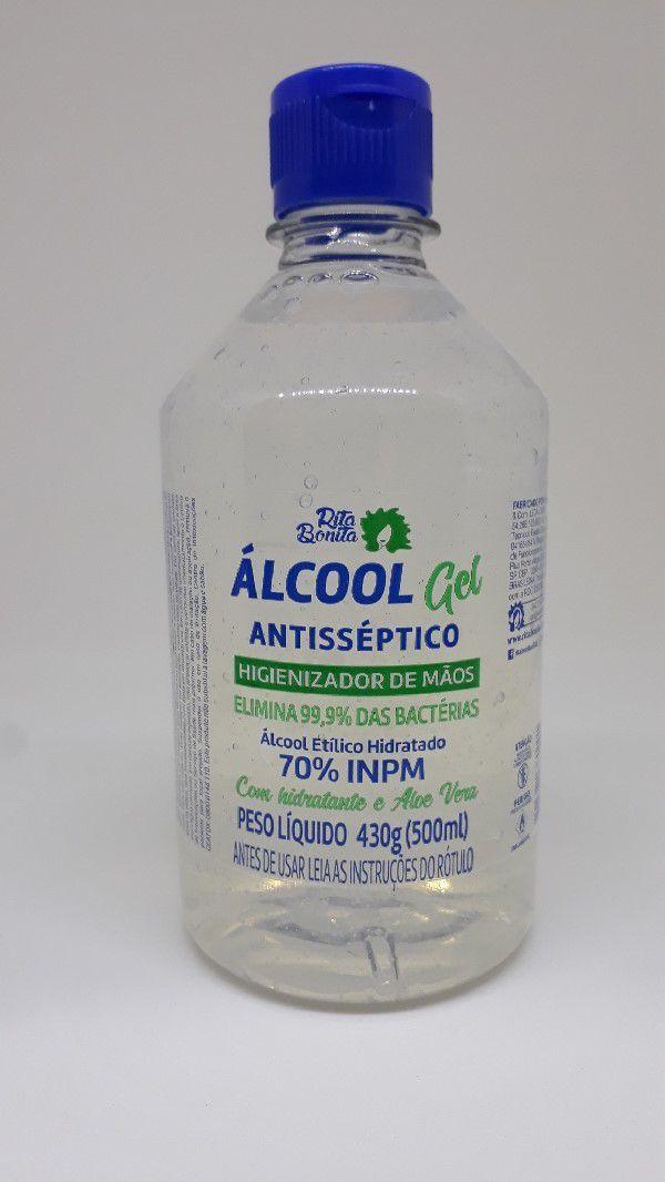 Rita Bonita - ALCOOL GEL  INPM 70%    500 ML