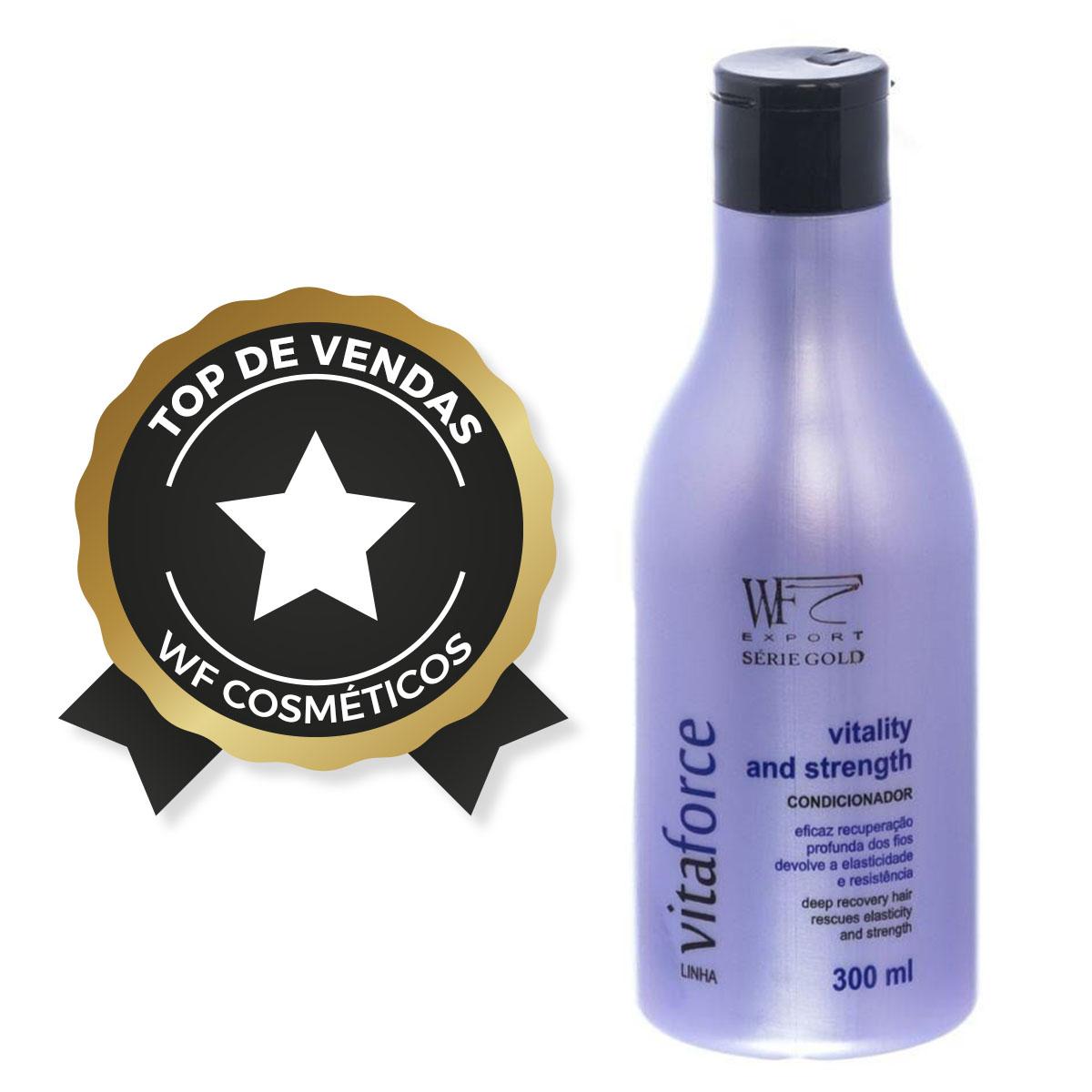 VITAFORCE - CONDICIONADOR VITALITY AND STRENGHT WF COSMETICOS 300ML