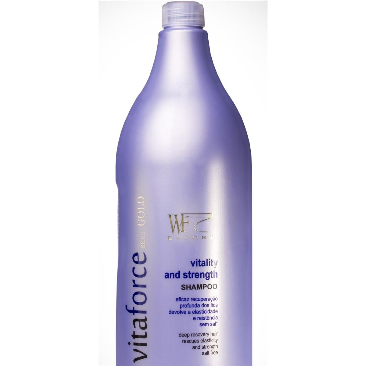 VITAFORCE - SHAMPOO VITALITY AND STRENGTH WF COSMETICOS 1,5L