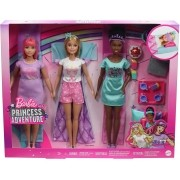 Barbie Aventura de Princesas Festa do Pijama