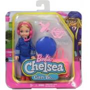 Barbie - Chelsea Profissões - Piloto de Avião
