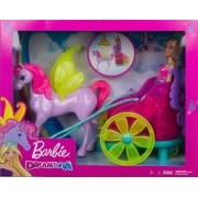 Barbie Dreamtopia - Princesa com Carruagem