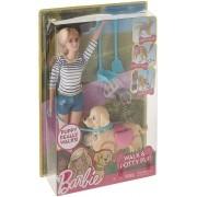 Barbie - Passeio Com Cachorrinho