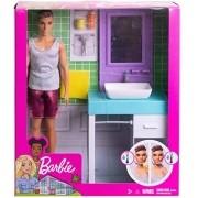 Boneco Ken - Móveis De Banheiro e Acessórios