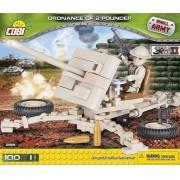 COBI - Artilharia Anti Aérea Inglesa  com 100 Peças