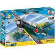 "COBI  Small Army - Avão Militar Mitsubishi A6M3 ""Zero"""