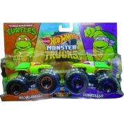 Hot Wheels  - Monster Trucks  Michelangelo x Donatello