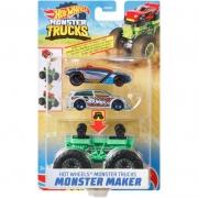 HOT WHEELS Monster Trucks - Monster Maker Verde