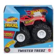 Hot Wheels - Monster Trucks - Pneus Para Todo Terreno - Rodger Dodger Vermelho