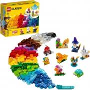 LEGO Classic - Blocos Transparentes Criativos 11013